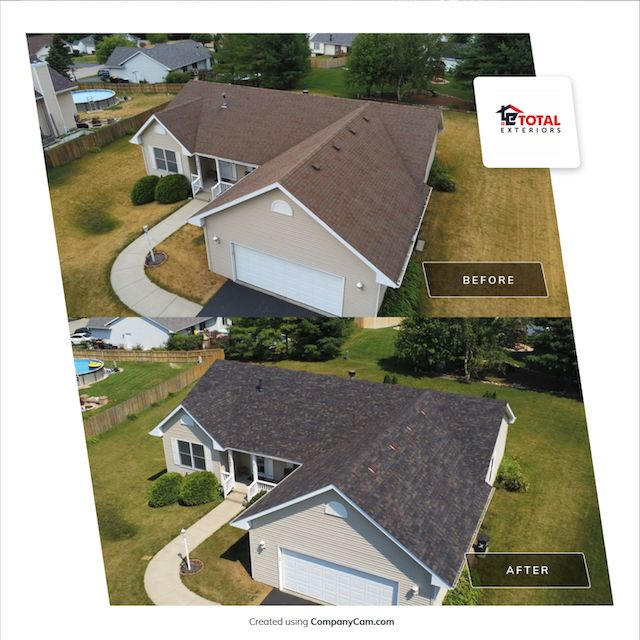 Total Exteriors before and after