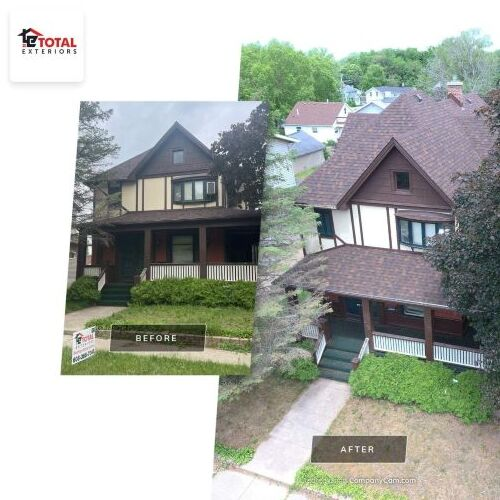 Before and After a Roof Replacement